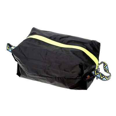Travel Camping Laundry Shoes Storage Bag Pouch Sports Carry Case XL Black