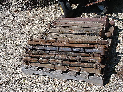 14 Antique Cast Iron Balusters, Can be cut down to make furniture legs!
