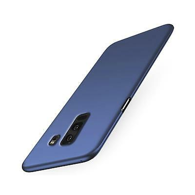 Samsung Galaxy S9 Hülle Tasche Case Cover Handy Backcover Handyhülle in Blau