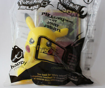 Pikachu Pokemon Sun And Moon Spielzeug-Figur +Sammelkarte Neu&ovp Us Version Rar