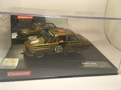 Carrera Slot Car BMW 2002 Touring Car '75 #48 REF: 27349