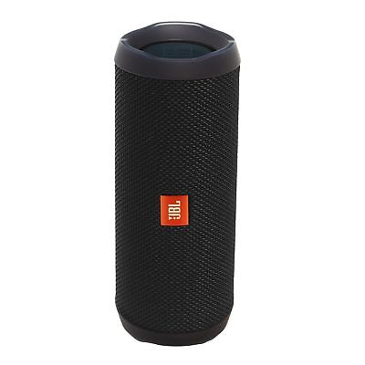 JBL Flip 4 Waterproof Portable Bluetooth Rechargeable Speaker (black) NEW +WTY