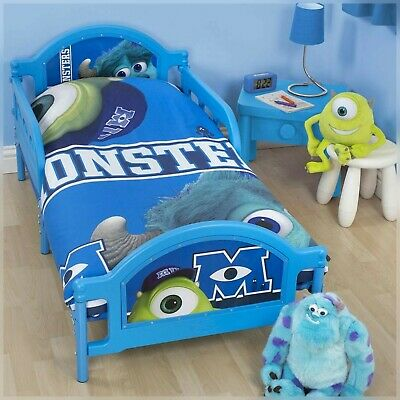 The Monsters University  Polly Cotton Eye Catching Cot Bed Duvet Quilt Cover Set