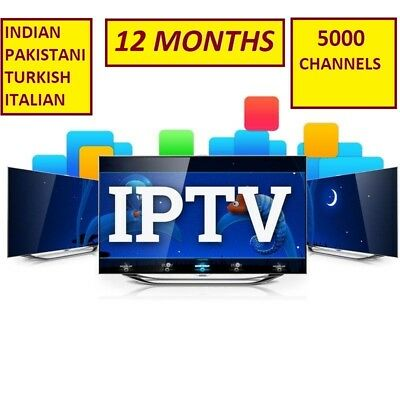 12 Month IPTV Subscription Warranty (UK Ch + VOD) MAG, Android, SmartTV, M3U