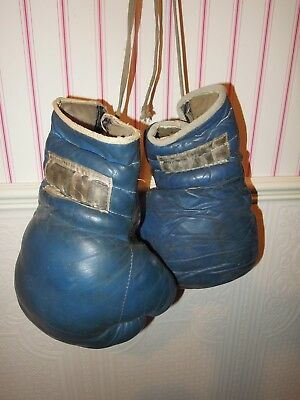 Boxhandschuhe ca, 1950 Leder SP Made in England