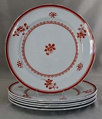 "Gloucester Red (Fine Stone) by SPODE 8.5"" Luncheon Plate(s) Sold Individually"