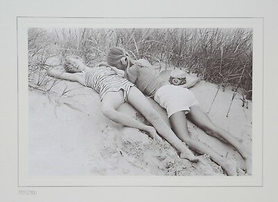 David Hamilton Ltd Ed. Photo Print 38x30 Sur la plage Girls Mädchen Beach Strand