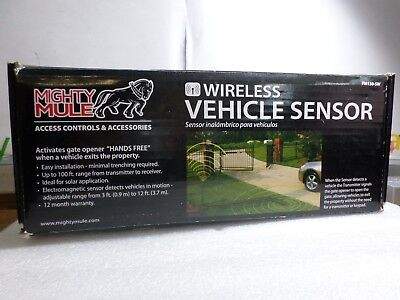 Mighty Mule GTO FM130-SW Wireless Vehicle Sensor for Gate Opening Systems
