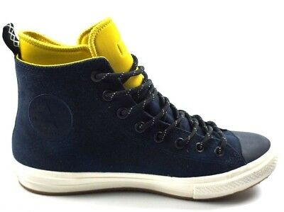 45f7dcb5f5b4 Converse All Star II Boot Chuck Taylor Winter Waterproof LEATHER Navy Blue  11D