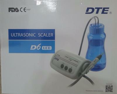 DTE / Woodpecker LED D6 Piezo Aqua Ultrasonic Scaler + 20 Packs Scaler Tips- UK