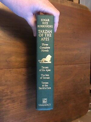 Tarzan Of The Apes ~ 3 Complete Novels ~ Edgar Rice Burroughs ~ Hc