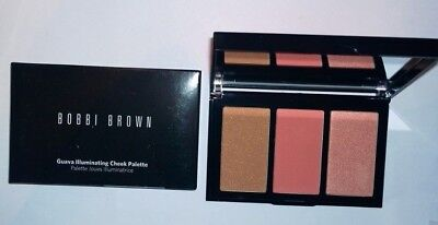 Bobbi Brown Illuminating Bronzer Cheek Palette in Guava - New in Box