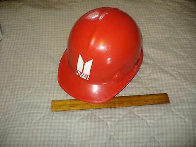 Vintage 1981 Isuzu Diesel Promo Company Hard Hat Red Jackson Products