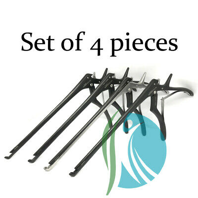 "Kerrison Rongeurs Cervical Orthopedic Spine 8"" 4,5,6,6mm up 40*"