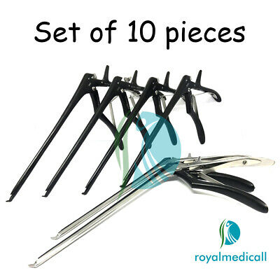"Kerrison Rongeurs Cervical Orthopedic Spine 8"" 1,1.5,2,3,4,5,6mm up 40* MAQNSCO"