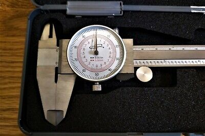 "iGaging Dial Caliper 6""/150mm Dual Scale Metric in/mm"