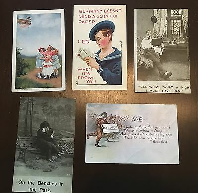 Post Cards ~ Lot of Five ~ Various Themes