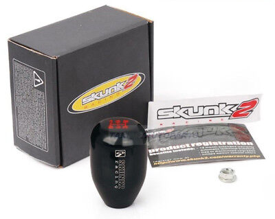 Skunk Black Billet Aluminium 5 Speed Gear Shift Knob M10*1.5