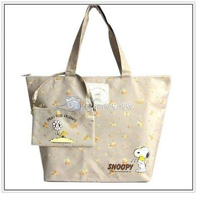 Snoopy Peanuts Shoulder Bag + Bean Bag Coin Bag Skate Print Woodstock
