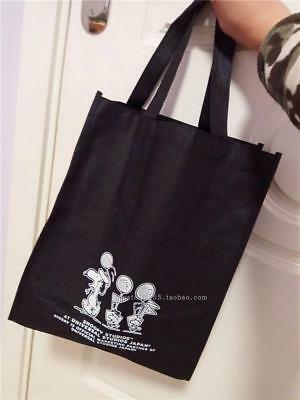 Snoopy Peanuts Tote Shoulder Shopping Bag recycle nonwovens bag Woodstock