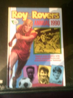 Roy of the Rovers Annual 1990, Published 1989, Vintage Book, Near Mint