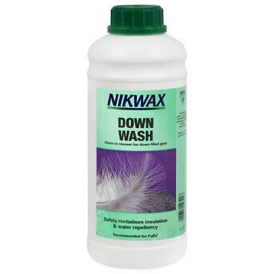 Nikwax Down Wash Direct 1 Litre Fabric Washing Treatment One Colour
