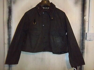 Rare Vintage Barbour A130 Spey Waxed Fly Fishing Jacket Size Xl