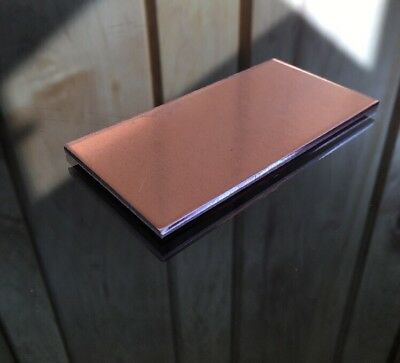 "1/8"" COPPER SHEET PLATE NEW 2""x4"" .125 THICK *CUSTOM 1/8 SIZES AVAILABLE*"
