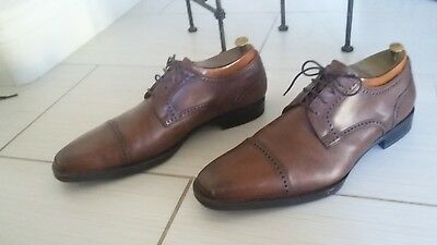 Jwn John Nordstrom Men S Cap Toe Oxford Dress Shoes 9 5 M Made In
