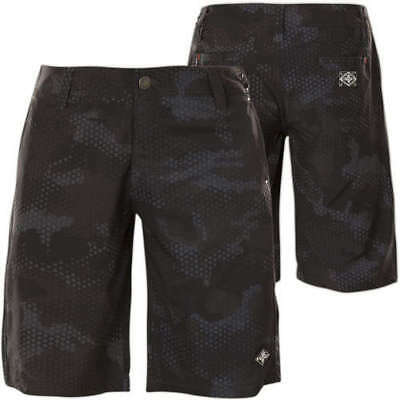 AFFLICTION Men Board Shorts Swim Trunks BLACK DIAMOND Fight CAMO Gym MMA UFC $58