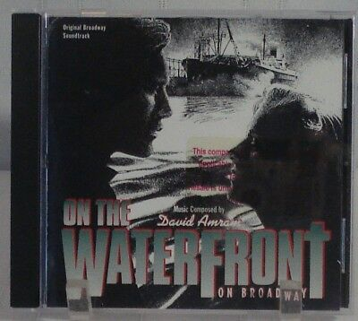 ON THE WATERFRONT (David Amram) rare original mint cd (1995) OOP! (Broadway)