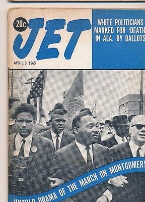 Jet Magazine 4/8/1965 Martin Luther King Jr. Untold Drama March on Montgomery