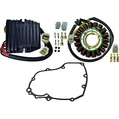 Stator + Mosfet Regulator + Gasket  Kit For Suzuki GSX-R 600 2006 2007 2008-2017