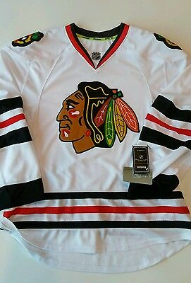 various colors fe672 28eee REEBOK EDGE CHICAGO Blackhawks Away Jersey. Bnwt Sealed
