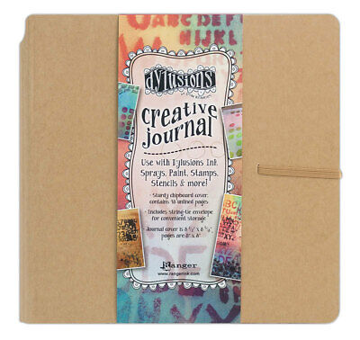 Dylusions Creative Journal - Square - 8 x 8