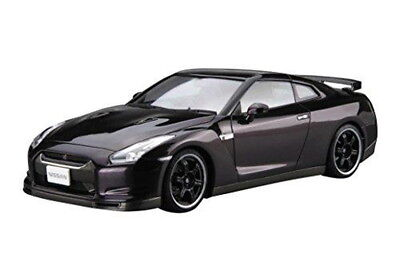 1/24 Scale Model Car Series No.35 Nissan R35GT-R Spec-V 2009 Aoshima Asembly Kit