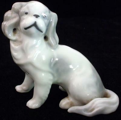 Vintage Occupied Japan Porcelain Ceramic Pekingese Dog Figurine