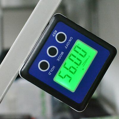 Digital Protractor Angle Gauge Finder Bevel Box Inclinometer Level Magnetic Base