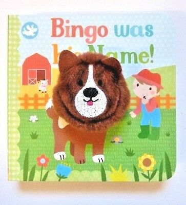 New, Finger Puppet Book Bingo Was His Name..!! For Children/Kids Age 2+ Year