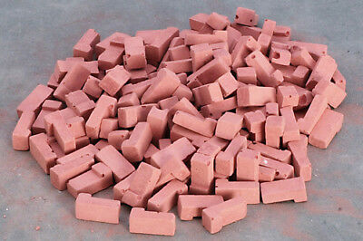 "325 per bag Dollhouse Miniature /""Used/"" Colored Bricks in 1:12 Scale"