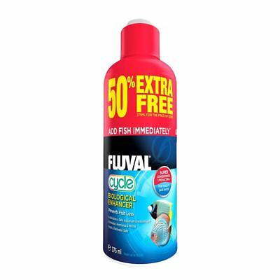 Fluval Cycle Biological Enhancer 375ml (50% Free) Nutrafin Conditioner Fish Tank