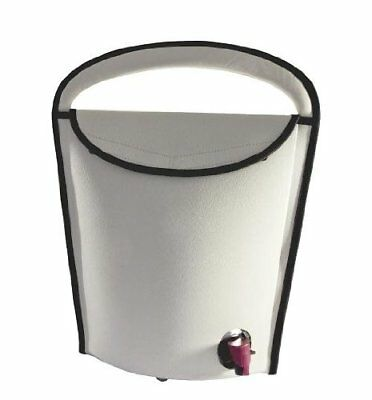 Portable Wine Cooler for Wineskin 3 L Grey 130 x 335 x 385 mm