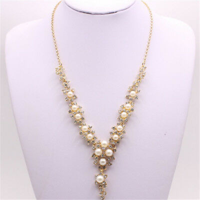 Fashion Vintage Y Shaped Pendant Necklace Collar Choker for Women Acessories