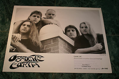 Opposite Earth 8X10 Glossy Official Promo Picture 1998 Very Rare Htf Oop Mint