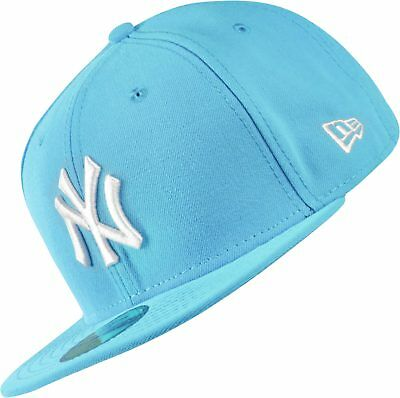 A02 NEW ERA OFFICIAL NEW YORK NY YANKEES LEAGUE BASIC Turquoise Baseball Cap