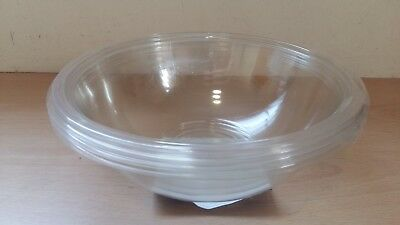 Round Clear Plastic Serving Bowl Disposable 1500cc 3 6 12 24 Bowls Great Value!