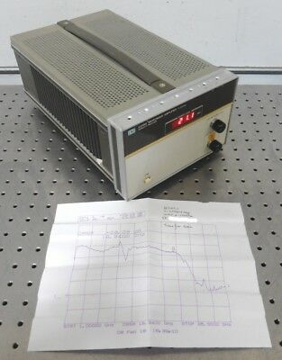 C147357 HP 8349A Microwave Amplifier 2-20GHz / 2 - 20 GHz *tested good*