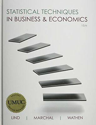 Used gd business in action 8th edition by courtland l bovee used gd statistical techniques in business economics with access code by lin fandeluxe Gallery