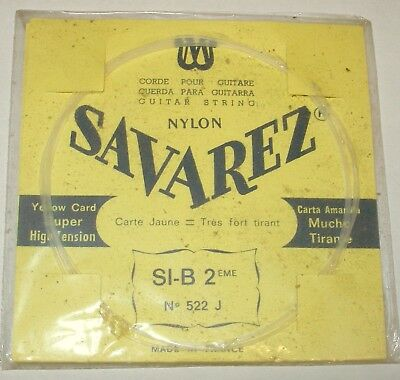 Savarez Guitar String, Single - SI-B-2 522 J