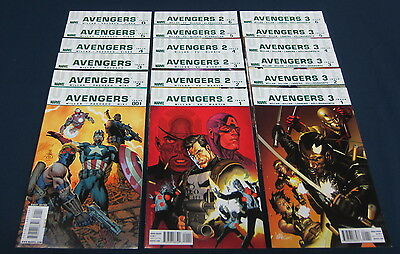Ultimate Avengers 1 2 3 Complete : #1-6 : Marvel Comics 2009 : Millar